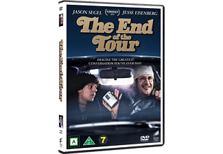 The End of the Tour Drama DVD