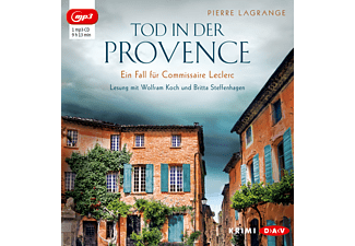 Tod in der Provence. Ein Fall für Commissaire Leclerc - 1 MP3-CD - Krimi