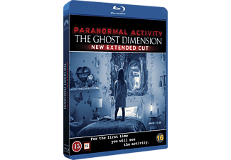 Paranormal Activity - The Ghost Dimension Skräck Blu-ray