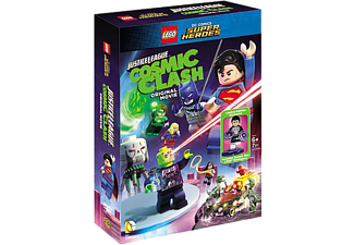 LEGO Justice league - Cosmic clash + Legofigur Animation / Tecknat DVD