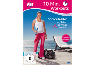 Fit For Fun - 10 Min. Workouts - Bodyshaping zu Hause, unterwegs & im Büro - (DVD)