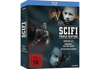 SciFi Triple Feature - (Blu-ray)