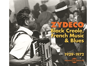 VARIOUS - Zydeco: Black Creole, French Music & Blues 1929-19 [CD]
