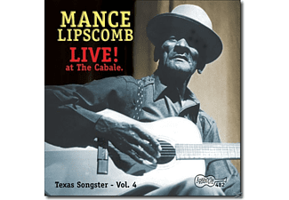 Mance Lipscomb - Live!-At The Cabale - (CD)