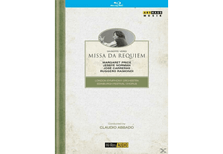 Abbado/LSO/Price/Norman/Carrer - Missa Da Requiem - (Blu-ray)