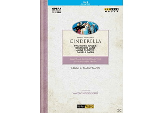JOULLI,LAINE,PLAISTED,PATER - Cinderella [Blu-ray]