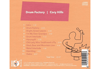 Cory Hills - Drum Factory - (CD)