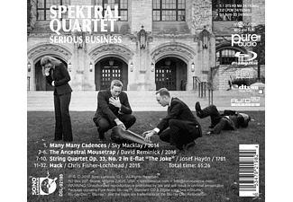 Spektral Quartet - Serious Business [Blu-ray Audio]