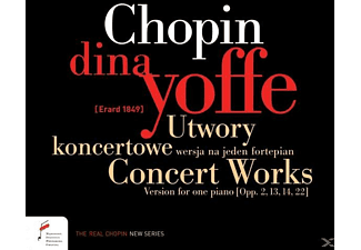 Dina Yoffe - Concert Works, Version For One Piano - (CD)