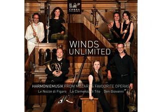 Winds Unlimited - Harmoniemusik From Mozart's Favourite Operas [CD]