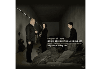Goeyvaerts String Trio - Whispers Of Titans [CD]