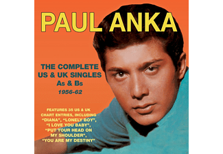 Paul Anka - The Complete Us & Uk Singles As & Bs 1956-62 - (CD)
