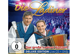 Die Ladiner - Das Große Ladiner Konzert-De - (CD + DVD Video)