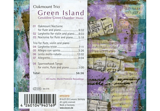 Oakmount Trio - Green Island - (CD)
