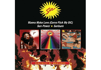 Sun - Wanna Make Love/Sun-Power/Sunburn - (CD)
