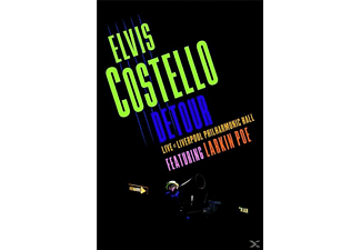 Elvis Costello - Detour: Live At Liverpool Philharmonic Hall (DVD) | DVD + Video Album