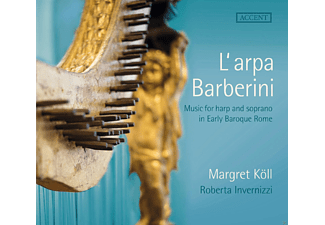 Margret Köll, Roberta Invernizzi - Music For Harp And Soprano In Early Baroque Rome - (CD)