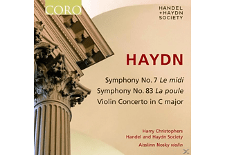 Harry / N Handel And Haydn Society / Christophers - Sinfonien 7 & 83/Violinkonzert Hob Viia:1 - (CD)