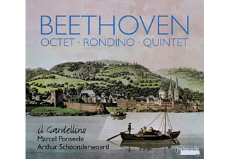 Arthur Schoonderwoerd, Il Gardellino - Beethoven: Octet, Rondino And Quintet For Winds [CD]