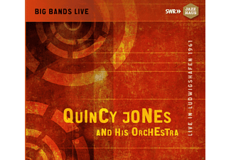 Quincy Orchestra Jones - Quincy Jones And His Orchestra: Live In Ludwigshafen 1961 - (CD)