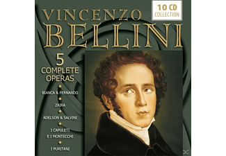 VARIOUS - Bellini: 5 Complete Operas - (CD)