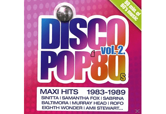 VARIOUS - Discopop 80s-Maxi Hits Vol.2 - (CD)