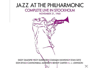 Jazz At The Philarmonic - Complete Live In Stockholm.November 21, 1960 - (CD)