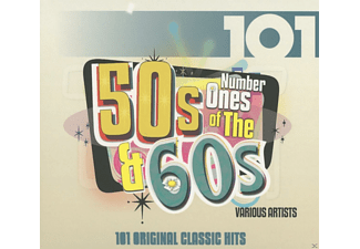 Various - 101 Number Ones Of The 50s & 60s - (CD)