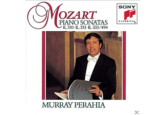 Perahia Murray - Sonatas For Piano K.310, 331 & 533/494 - (CD)