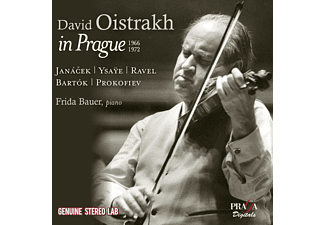 David Oistrakh, Frida Bauer - David Oistrakh In Prague - (CD)