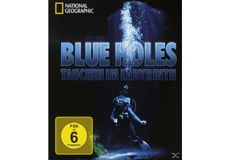 National Geographic: Blue Holes - (Blu-ray)