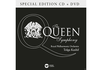 Tolga Kashif, Royal Philharmonic Orchestra - The Queen Symphony - Special Edition (CD + DVD)