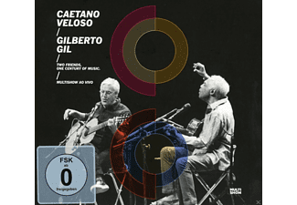 Caetano Veloso, Gilberto Gil - Two Friends, One Century Of Music (Live) [DVD + CD]