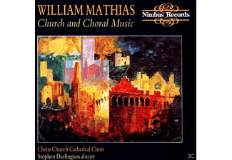 Christ Church Cathedral Choir, Lawford/Darlington/Christ Church Cathedral Choir - Mathias:Church And Choral Music - (CD)