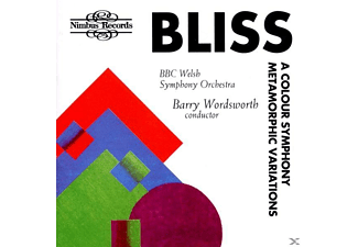 Bbc Welsh Symphony Orchestra, Wordworth - Colour Symphony - (CD)