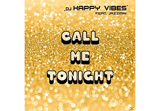 DJ Happy Vibes feat. Jazzmin - Call Me Tonight - (Maxi Single CD Extra/Enhanced)