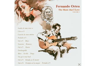 Ferno Orteu - THE MUSIC THAT I LOVE - (CD)