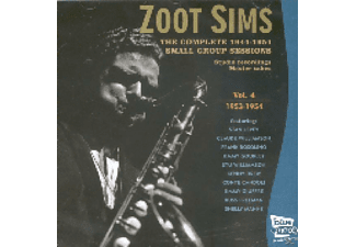 Zoot Sims - Complete 1944-54 Small Group Sessions - (CD)