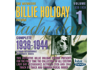 Billie Holiday - Complete 1936-38 Studio Recordings - (CD)