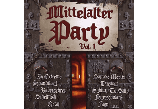 VARIOUS - Mittelalter Party Vol.1 - (CD)