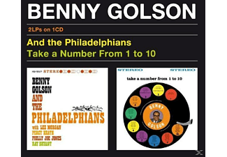 Benny Golson - And the Philadelphians + Take a Number from 1 to 10 (CD) (CD)
