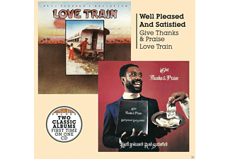 Well Pleased And Satisfied - Give Thanks And Praise/Love Train - (CD)