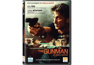THE GUNMAN DVD