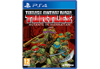 Teenage Mutant Ninja Turtles: Mutants in Manhattan PS4