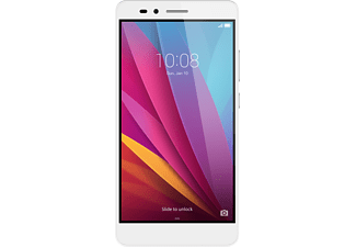 HONOR 5X, Smartphone, 16 GB, 5.5 Zoll, Silber, LTE