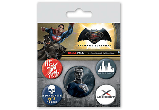 Batman vs Superman Button Set Superman