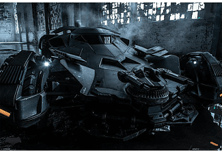Batman vs Superman Poster Batmobile