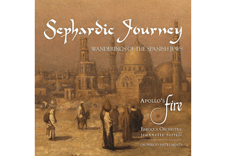 Jeannette  Sorrell, Apollos Fire - Sephardic Journey-Wanderings Of The Spanish Jews [CD]