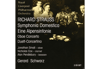 Royal Liverpool Philharmonic Orchestra - Strauss: Sinfonia Domestica [CD]