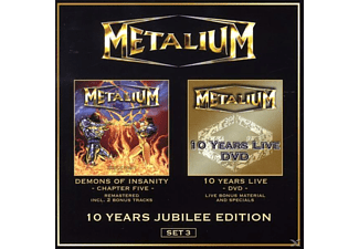 Metalium - 10 Years Jubilee Edition-Set 3 (Ltd.Ed.) - (DVD)